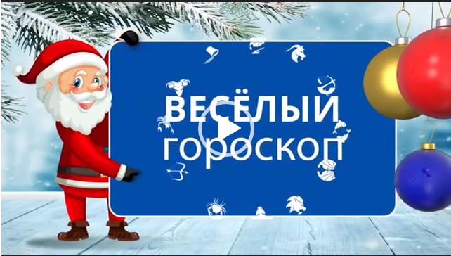 Веселый гороскоп на 2019 год. Видео.