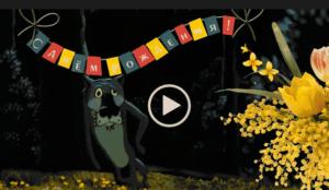 Поздравление от Волка - с днем рождения в марте скачивай на нашем сайте с днем ру