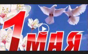 Скачать видео открытки с 1 мая и с днем труда. Короткое видео на телефон.