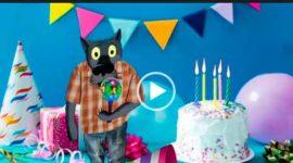 С днем рождения в июне от Волка. Скачать видео.
