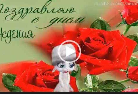 С днем рождения Вячеслав, Слава. Видео открытка. Скачать поздравления с дне рождения.
