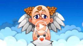 С днем рождения от ангелочка. Видео поздравление скачать бесплатно.