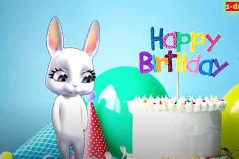 С днем рождения зайка скачать